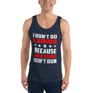 I Don't Do Cardio - Patriotic Tank - Absurd Ink