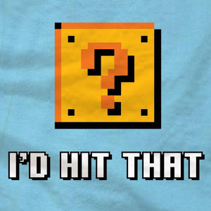 I'd Hit That Question Block T-Shirt