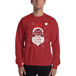 I'm Not Santa - Christmas Sweatshirt - Absurd Ink