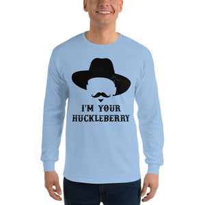 I'm Your Huckleberry Doc Holliday - Long Sleeve Tee - Absurd Ink