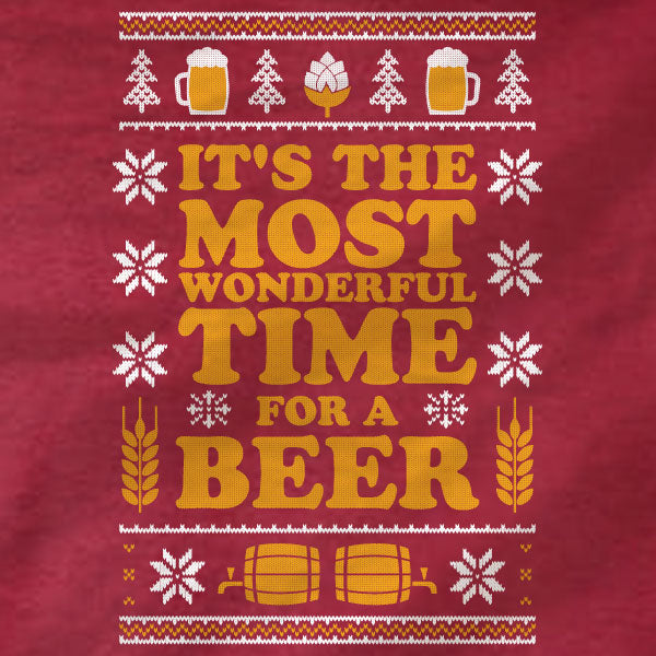 Beer Christmas - Long Sleeve Tee - Absurd Ink