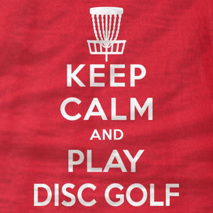 Keep Calm And Play Disc Golf - Hoodie - Absurd Ink