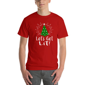 Lets Get Lit - Christmas Tree - T-Shirt