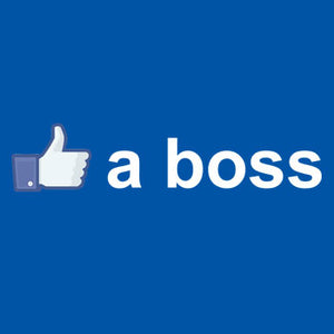 Like a Boss - Canvas Unisex T-Shirt - Absurd Ink
