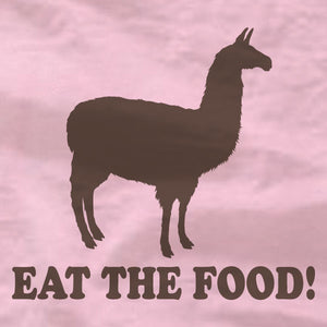 Llama - Ladies Tee - Eat The Food - Napoleon Dynamite - Absurd Ink