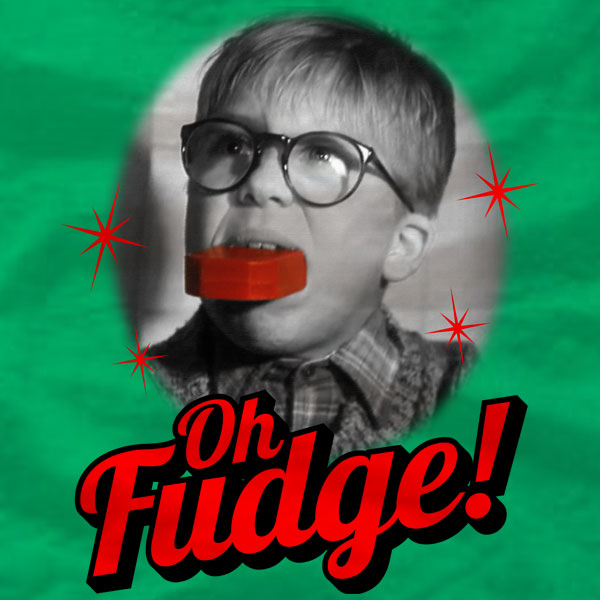 Oh Fudge - A Christmas Story - Sweatshirt - Absurd Ink