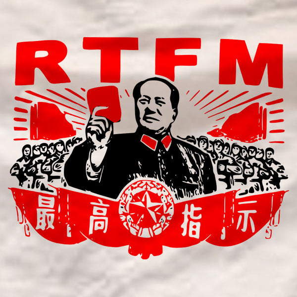 RTFM The IT Crowd - T-Shirt - Absurd Ink