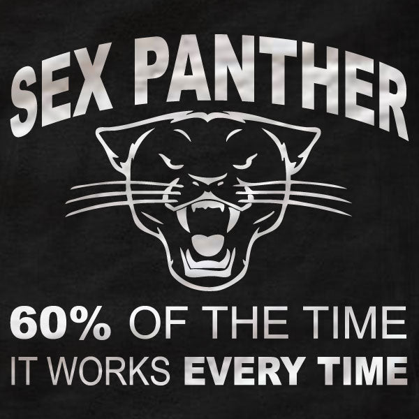 Sex Panther - Anchorman - Unisex Tee - Absurd Ink