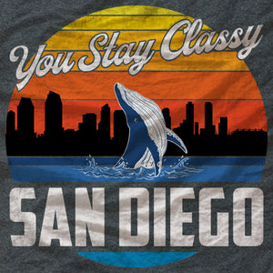 San Diego Ladies Tee - You Stay Classy - Absurd Ink