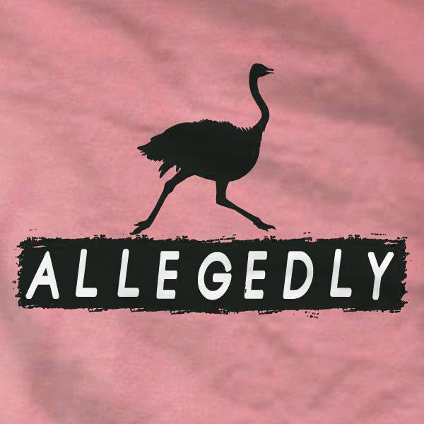 Allegedly Ostrich Ladies Tee - Letterkenny - Absurd Ink