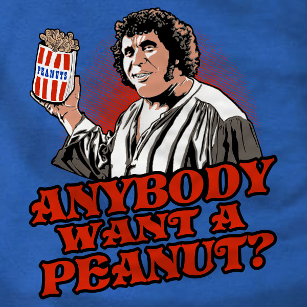 Anybody Want A Peanut Ladies Tee - Princess Bride - Absurd Ink