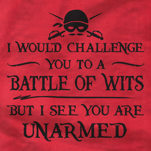 Princess Bride T-Shirt - Battle of Wits - Absurd Ink