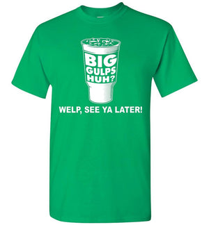Dumb and Dumber - Big Gulps - T-Shirt - Absurd Ink