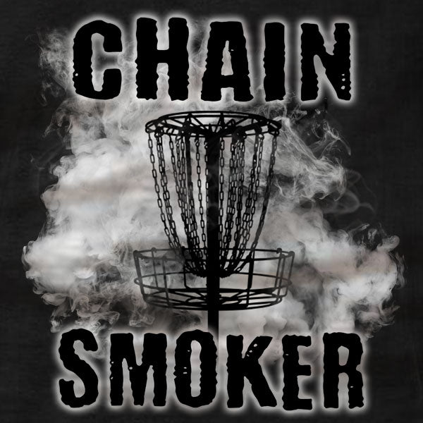 Disc Golf T-Shirt - Chain Smoker - Absurd Ink