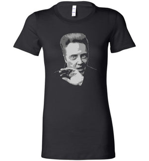 Christopher Walken - Bella Ladies Favorite Tee - Absurd Ink