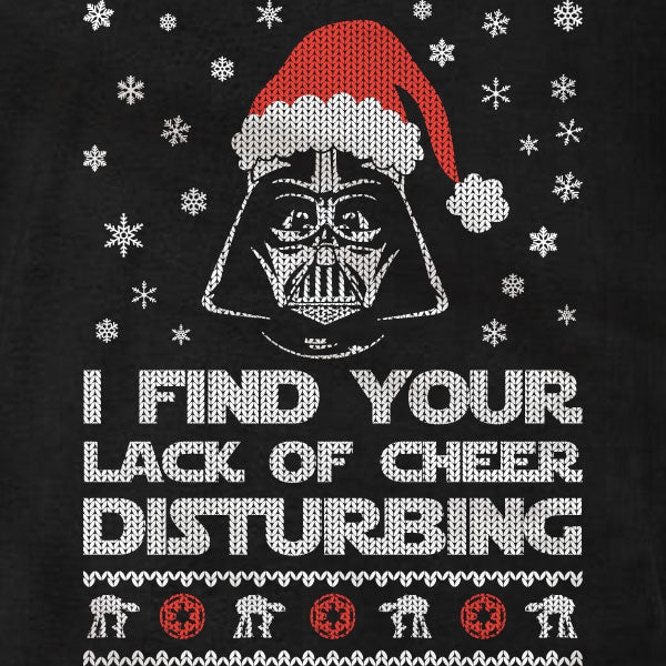Darth Vader Christmas - Long Sleeve T-Shirt - Absurd Ink