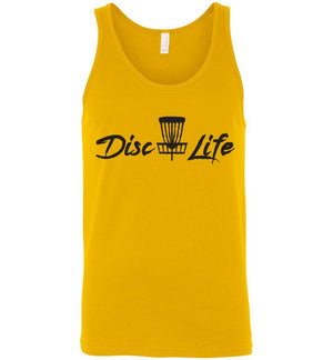 Disc Golf Shirt - Disc Life - Tank Top - Absurd Ink