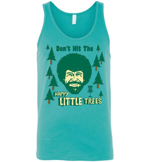 Disc Golf Tank - Don't Hit The Trees - Absurd Ink
