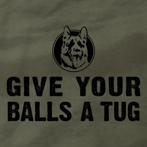 Give Your Balls A Tug - Hoodie - Absurd Ink