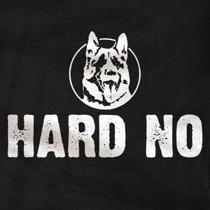 Hard No Letterkenny - Long Sleeve Shirt - Absurd Ink