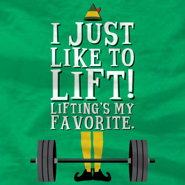 I Just Like To Lift - T-Shirt - Absurd Ink