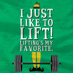 I Just Like To Lift - Ladies Tee - Absurd Ink