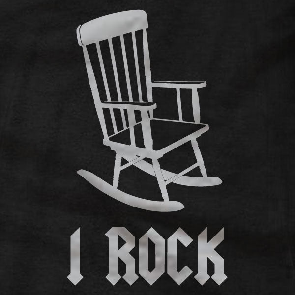 I Rock - T-Shirt - Rocking Chair - Absurd Ink