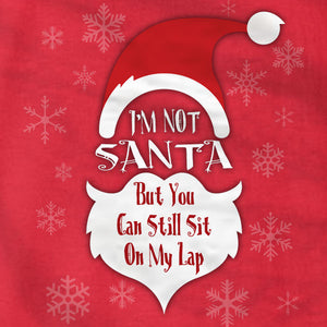 I'm Not Santa - Long Sleeve Tee - Absurd Ink