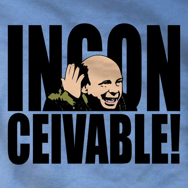 Inconceivable Sweatshirt - The Princess Bride - Absurd Ink