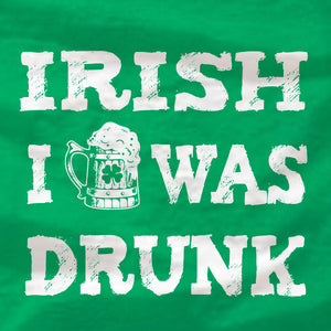 Irish I Was Drunk - T-Shirt - St Patrick's Day - Absurd Ink