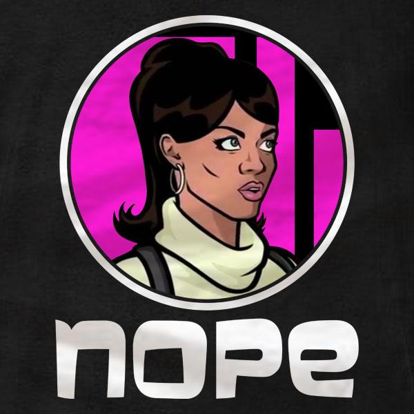 Lana Nope Archer - Ladies Tee