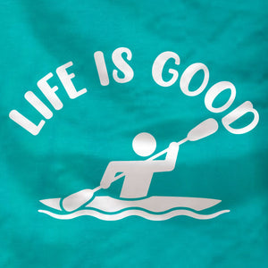 Life is Good - Kayak Unisex Tank - Absurd Ink