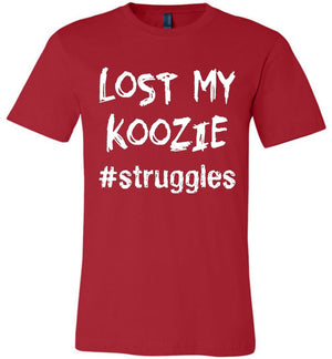 struggles - Lost My Koozie - Unisex T-Shirt - Absurd Ink