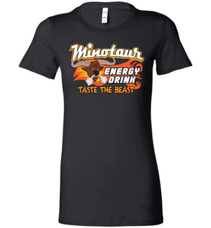 Minotaur Energy Drink - Bella Ladies Favorite Tee - Absurd Ink