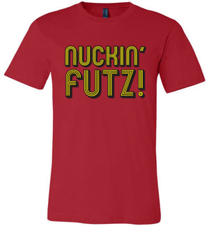 Nuckin Futs - Canvas Unisex T-Shirt - Absurd Ink