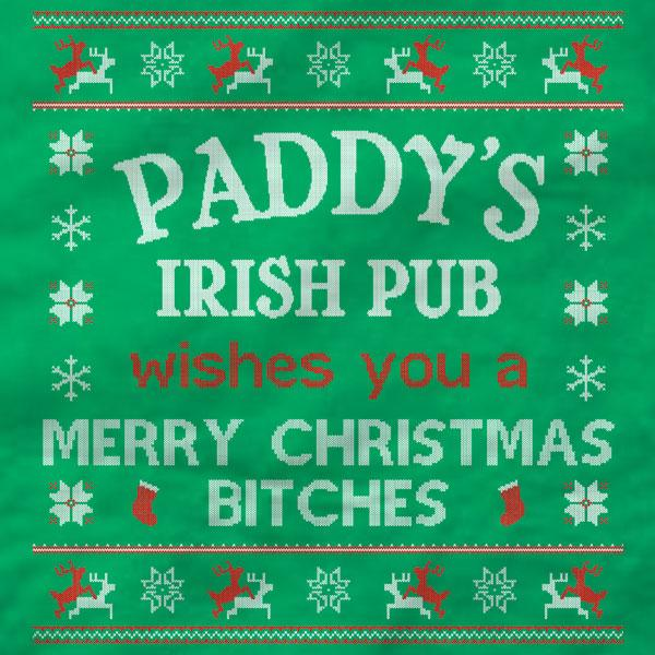 Paddy's Irish Pub Merry Christmas T-Shirt