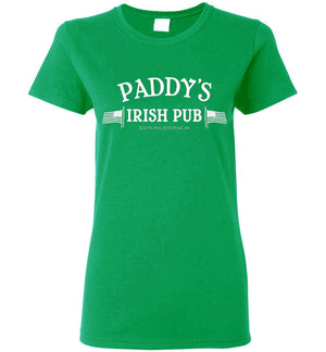 Paddy's Irish Pub Ladies Tee