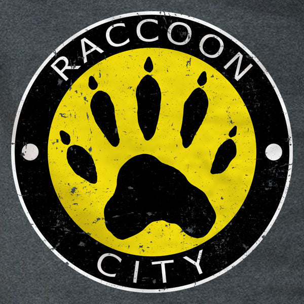 Raccoon City Paw Logo - T-Shirt - Absurd Ink