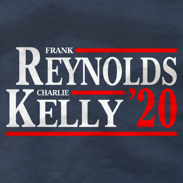 Frank Reynolds Charlie Kelly '20 - Ladies Tee - Absurd Ink