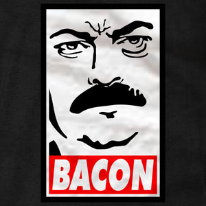 Ron Swanson Bacon - Ladies Tee - Absurd Ink
