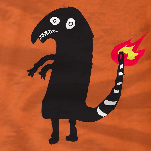 Shitty Charmander - T-Shirt - Absurd Ink