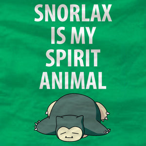Snorlax Sweatshirt - Snorlax Is My Spirit Animal - Absurd Ink