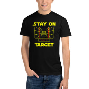 Disc golf T-Shirt - Stay On Target - Absurd Ink