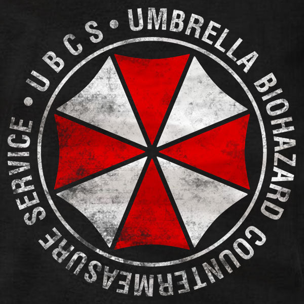 Umbrella UBCS Distressed - T-Shirt - Absurd Ink