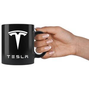 Tesla Coffee Mug - Black