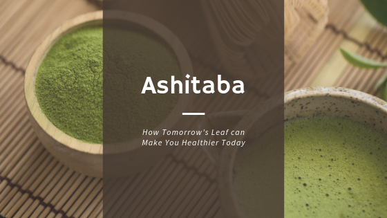 Ashitaba: How Tomorrow's Leaf can Make You Healthier Today
