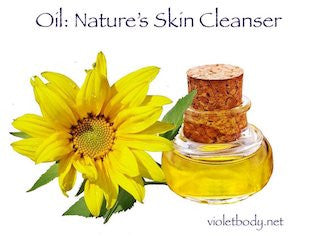 Oil: Nature's Skin Cleanser