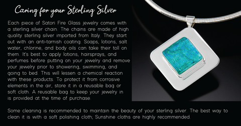CARING FOR YOUR STERLING SILVER JEWELRY