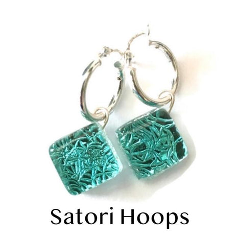 Satori Sterling Hoop Earrings