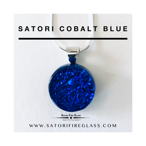 Satori Cobalt Blue Necklace